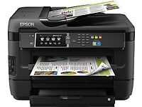 Epson Printer: WorkForce WF-7620DTWF A3+ Colour Multifunction - Used/good conditions-Collection Only