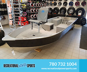 ALL NEW MIRROCRAFT UTILITY BOATS IN STOCK
