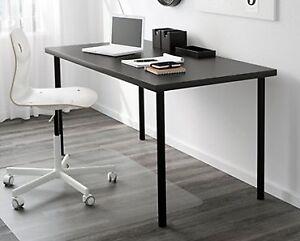LINNMON / ADILS Table + Glass Table on Wheels + VERONA Rug$60 f