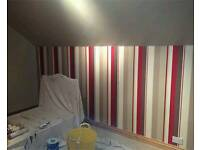 Painting and decorating, tiling, plastering