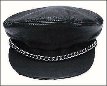 Leather Peaked Cap Clothes Shoes Amp Accessories Ebay