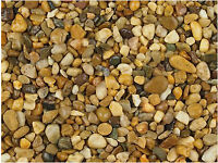 Garden Chips - golden Quartz pebbles