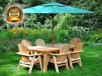 Western red cedar patio sets and more!!!