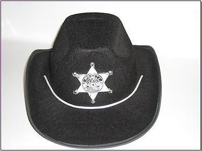 CHILD BLINKING SHERIF COWBOY HAT~COWBOY PARTY DRESS UP ()