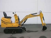 Mini-Dig Excavator and Bobcat for Hire