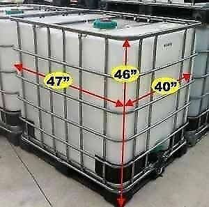 1000liter plastic water totes OVERSTOCKED London Ontario image 5