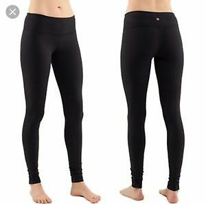 Original Lulu lemon black reversible full length leggings/tights