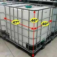 250 gallon food grade water totes