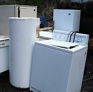 FREE REMOVAL OF ALL APPLIANCES