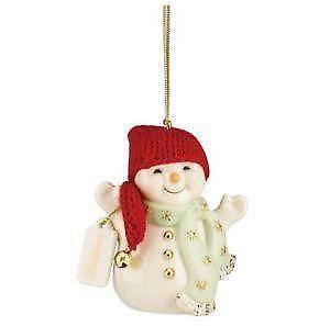 lenox snowman ornaments - Lenox Christmas Decorations