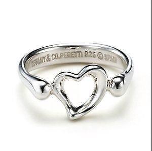 Tiffany Heart Ring Ebay