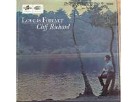 Cliff Richard Love is Forever vinyl album