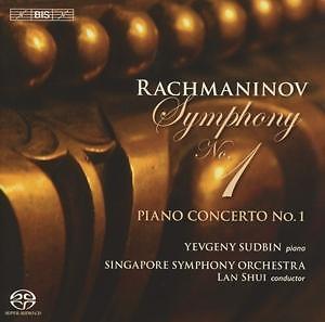 Rachmaninoff Sin. 1, 1.Klavierkonzert - Singapore SO, Shui,Yevgeny Sudbin SACD