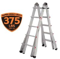 Featherlite Jaws JLT-26 Extra Heavy Duty Telescopic Ladder