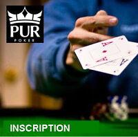 Tournoi de poker récréatif mardi soir et jeudi soir  19 heures