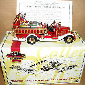 Matchbox Die Cast Fire Engine - The Matchbox Holiday Fire Engine