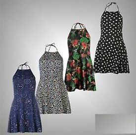 Lee Cooper Halterneck Summer Dresses