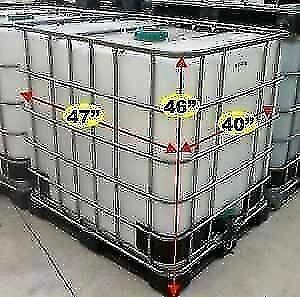 1000 LITRE WATER TANKS/TOTES