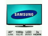 "Samsung 40"" LED tv built USB MEDIA PLAYER HD FREEVIEW full hd 1080p"