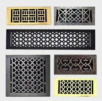 Cast Iron Floor ,Wall ,Grates and Registers