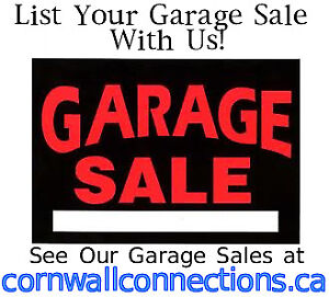 LIST YOUR GARAGE SALE WITH US ALSO