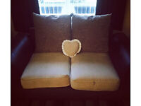 Scs two seater sofa