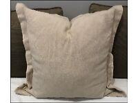 2 x Beige Cushion