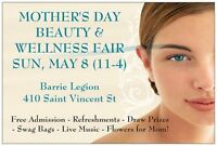 Mothers's Day Beauty & Wellness Fair at Barrie Legion