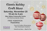 Craft Vendors wanted for Classic Holiday Craft Show Oakville