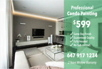Professional & Fast Condo Painting - $599