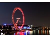 Two adult coca-cola london eye day out tickets with 4d experience