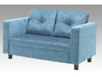 Rugby Upholstered 2 Seater Sofa - Brand New