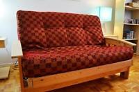 Canapé-futon 2 place haut de gamme