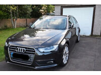 Audi A4 Estate Imaculate condition, low milage Auto & Manual with paddle shifts on steering wheel