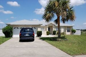4 bed 2 bath Florida vacation  home to rent with private pool