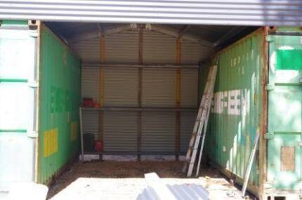 Secured yard all lockable in Industrial Complex.
