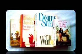 WOMENS FICTION - PAPERBACK/HARDCOVER BOOKS - (4) - FOR SALE