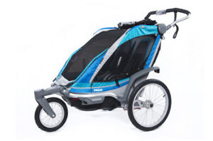 Thule Chariot Chinook 2 seat- trailer, jogger, and stroller