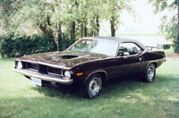 1974 Plymouth Barracuda Coupe, Classic Sports Car