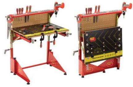 BARGAIN Red Toolbox Workbench (Not a Toy) for Kids