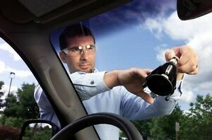 Windshield Rock Chips and Long Crack repair!!!