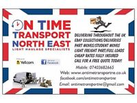 North East Based Transport Company Offering Collection & Delivery Services Nationwide
