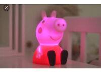 Peppa pig night light