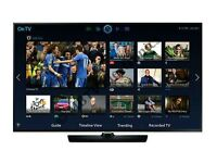 """Samsung 40"""" LED smart 3D wifi built USB MEDIA PLAYER HD FREEVIEW and freesat Screen"""
