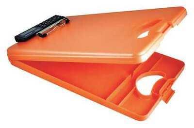 Saunders 00543 8-12 X 11 Portable Storage Clipboard 1 Orange
