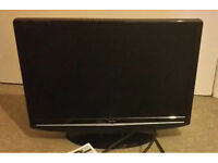 Bush 19'' lcd flatscreen tv television built in freeview