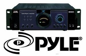 NEW PYLE 3000w POWER AMPLIFIER   Electronics › Audio Home Theatre › DJ Equipment SPEAKER AUDIO  85225884