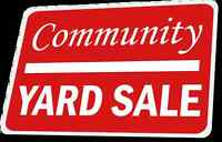 FRASERBURG & AREA Community Yard & Craft Sale