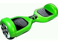 Swegway balance board. Brand new in box, green colour with carry bag.