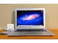 Macbook Air 13 inch apple mac laptop 64gb SSD hard drive